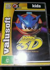 Sonic 3D Flickies Island PC GAME - FREE POST *