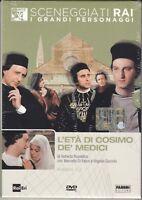 Dvd Sceneggiati Rai «L'ETÀ DI COSIMO DE MEDICI» Roberto Rossellini completa 1972