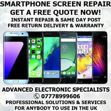 HTC TOUCH SCREEN DIGITIZER CRACKED LCD DISPLAY BROKEN GLASS REPAIR SERVICE