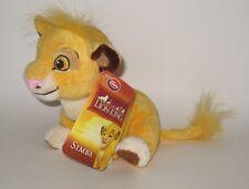 Vintage Disney Store Lion King Simba Baby Cub Plush NWT Very Unique Hang-Tag
