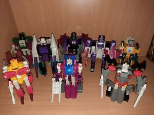 Transformers G1 Headmasters and Monsterbots LOT COMPLETE