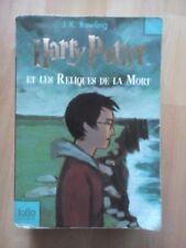 JK ROWLING French copy of Harry Potter et Les Reliques de la Mort paperback book