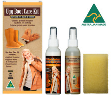 AUSTRALIAN Made UGG Stivale Cura Kit Detergente per pelle di pecora & Pelle Scamosciata