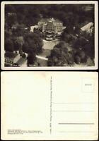 Ansichtskarte Putbus Schloß (Castle) vom Flugzeug aus, Luftaufnahme 1934