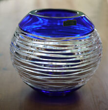 Violetta Glassworks Art Glass Lead Crystal Bowl