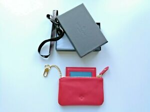 Patek Philippe Purse in Red Leather - Boxed New - VIP Gift Complete with Mirror