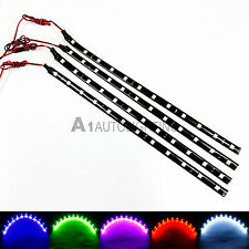 "4x NEW Flexible LED Strip 12"" 30CM SMD 5050 High Bright Car/Truck DRL Light 12V"