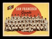 1959 Topps Set Break # 69 San Francisco Giants Team Card VG-EX *OBGcards*