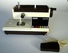 Pfaff Fuchs Tipmatic Kindernähmaschine mit Fußpedal braun-beige 60er Jahre