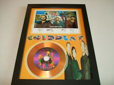 COLD PLAY    SIGNED GOLD CD  DISC  4