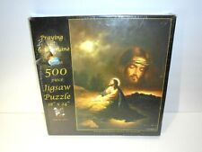 Vintage SUNSOUT Praying at Gethsemane Christian JESUS LORD Jigsaw Puzzle Sealed