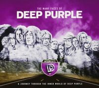 MANY FACES OF DEEP PURPLE 3 CD NEU VANILLA FUDGE/GILLAN/WARHORSE/ENERGY/+