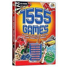 1555 GAMES (PC-CD) BRAND NEW SEALED DARTS/BOARD GAMES