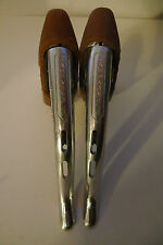 Vintage Campagnolo Nuovo Record Milled Brake levers with NOS Gum hoods 4 Colnago