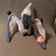 Ty Beanie Baby - Swoop the Pterodactyl Dinosaur (6 Inch) with hang Tag