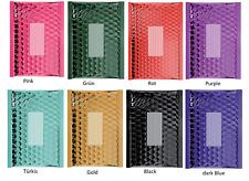 Luftpolstertaschen Versandtaschen, Brief Umschläge, Metallic verschieden Farben