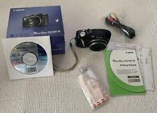 Canon PowerShot SX130 IS 12.1MP 12x Zoom Digital Camera - Black