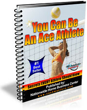 YOU CAN BE AN ACE ATHLETE!  PDF EBOOK FREE SHIPPING RESALE RIGHTS