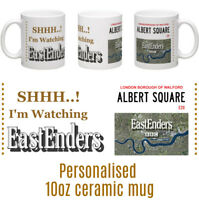 EastEnders 10oz Ceramic Personalised Mug - Birthday, Christmas Gift Idea