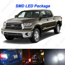 18 x Untra White LED Reverse Interior Light Kit For 2007-2013 Toyota Tundra
