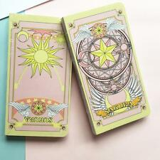 Anime Cardcaptor Sakura Clow Card Cosplay Notebook Diary Journal Memo
