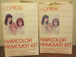 2x LOREAL PARIS haircolor Remover Kit