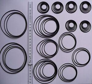80 St. Rundriemen, Riemensortiment Riemenset, High Quality Round Rubber Belt Kit