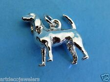 Vintage silver Beagle Dog Puppy Breed Bracelet charm Jmf Co. #F