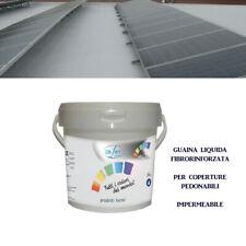 GUAINA Liquida Fibrorinforzata *LORELAST FR* per Coperture Pedonabili da 5-20 Kg