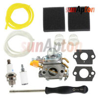 Carburetor Tune Up Kit For Ryobi RY26500B RY26540 SS30 SS26 Weed Eater Fuel Line