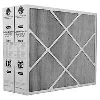 "Lennox X6675 Carbon Clean MERV 16 Replacement Filter 20"" x 25"" x 5"" (2 Pack)"
