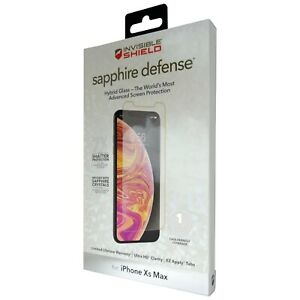 ZAGG iPhone Xs Max & 11 Pro Max Sapphire Defence Hybrid Glass Screen Protector
