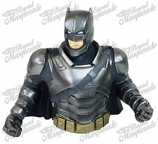DC Comics Armored Batman PVC Bust Coin Bank 3D Toy Figure Piggy Bank