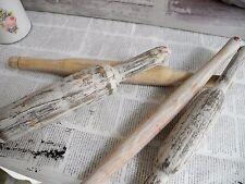 1 Stück Nudelrolle Rolle Teigrolle alt Spule Holz Shabby chic Nostalgie Landhaus
