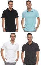 Men's Apt. 9® Slim-Fit Slubbed Polo Short Sleeve Casual Golf Shirt S-M-L-XL
