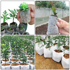 420pcs Fabric Seedling Bags + Plant Labels Seedling Pots for Garden Supplies