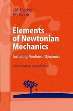 Elements of Newtonian Mechanics: Including Nonlinear Dynamics: By Jens M Knud...