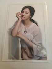 SNSD Girls Generation Yuri Official Postcard Card Kpop K-pop Us Seller