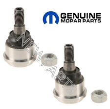 Dodge Ram 2500 3500 Pair Set of 2 Front Upper Suspension Ball Joints Genuine NEW
