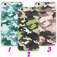 CAMO 1 MILITARY CAMOUFLAGE ARMY Case Cover iPhone 4 5 SE 2 6 7 8 X s MAX plus XR