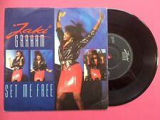 Jaki Graham - Set Me Free / Stop The World, EMI JAKI-7 Ex Condition