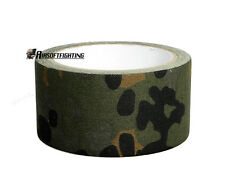 5CMx10M Hunting Camping Camouflage Stealth Duct Tape Rifle Gun Wrap German Camo