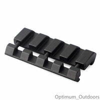 Snap in Rail Adapter 11mm Dovetail to 20mm Weaver Picatinny Converter Mount