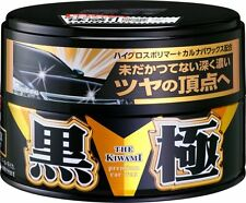 Wasch SOFT99 The Kiwami Extreme Gloss Black Auto Car Carnaub Paste King of Fusso