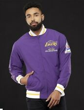 Authentic NBA Mitchell & Ness Purple Los Angeles Lakers Champions Warm-up Jacket