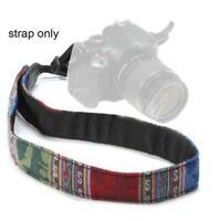 Vintage Kamera Schultergurt Riemen Gürtel für Nikon SLR Panasonic Y0Q4