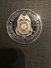 Diplomatic Security Service DSS Office of Special Investigations Challenge Coin