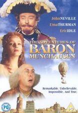 THE ADVENTURES OF BARON MUNCHAUSEN ORIGINAL RELEASE JOHN NEVILLE UK REG2 DVD NEW