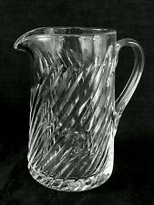 Royal Brierley full lead cut crystal pitcher, 7 inches