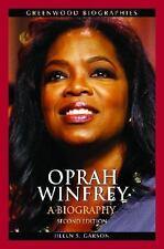 Oprah Winfrey: A Biography (greenwood Biographies): By Helen S. Garson